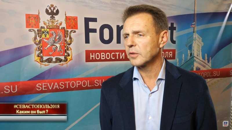 Председатель Федерации футбола Севастополя Александр Красильников включен в состав президиума городского Олимпийского совета