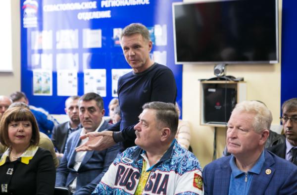 Руководство ФФС приняло участие в рабочей встрече Дмитрия Саблина с представителями городских спортивных федераций