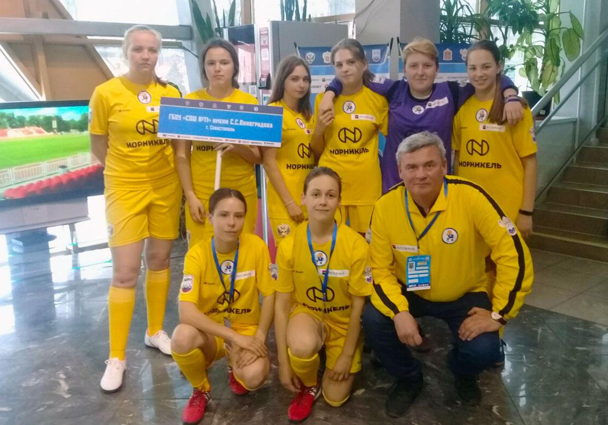 06042019 2 - Дмитрий Соловьев: «Девочкам было непросто играть против старших и более опытных команд»