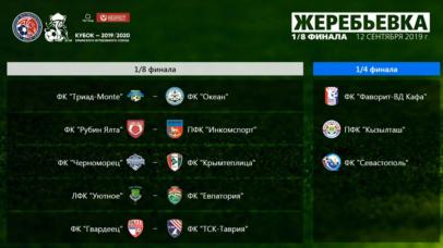 Состоялась жеребьевка Кубка КФС сезона 2019/20