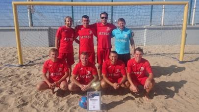 Севастопольский «Легион» – победитель Фестиваля Республики Крым и Севастополя по пляжному футболу