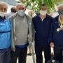 Ветераны севастопольского футбола получили материальную помощь от Олимпийского комитета России