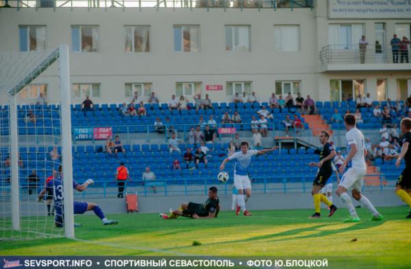 Премьер-лига КФС 2019/20, 18-й тур: «Севастополь» - «Евпатория» – 1:2