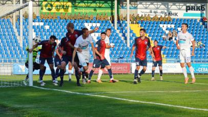 «Крымское дерби»: «Севастополь» - «ТСК-Таврия» - 3:4. Суперрезультативный матч и 6 голов головой