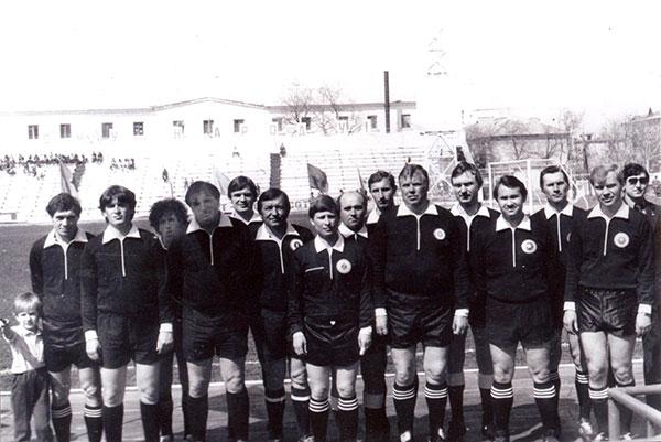 Севастопольские судьи в 80-х годах