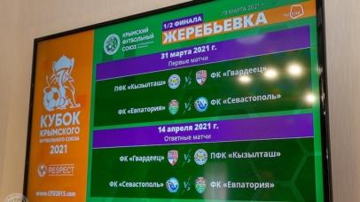 «Севастополь» сыграет с «Евпаторией». Определены полуфинальные пары Кубка КФС — 2021