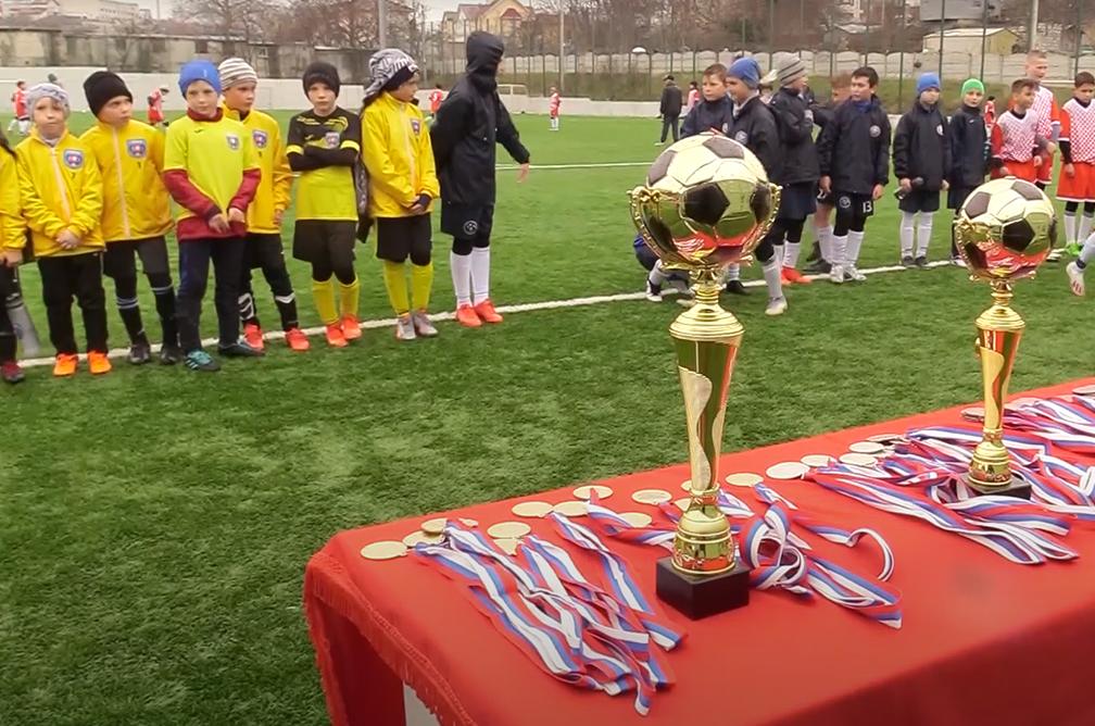 В Севастополе прошел ежегодный традиционный детский футбольный турнир «Дружба народов»