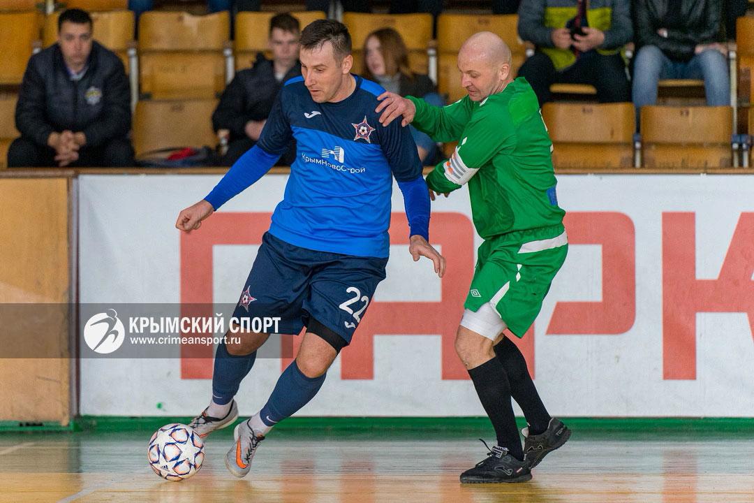 В двух шагах от победы: севастопольский МФК «Капитан-Fidele-2» лидирует в первом дивизионе футзальной «Арсеналъ Лиги Крыма»