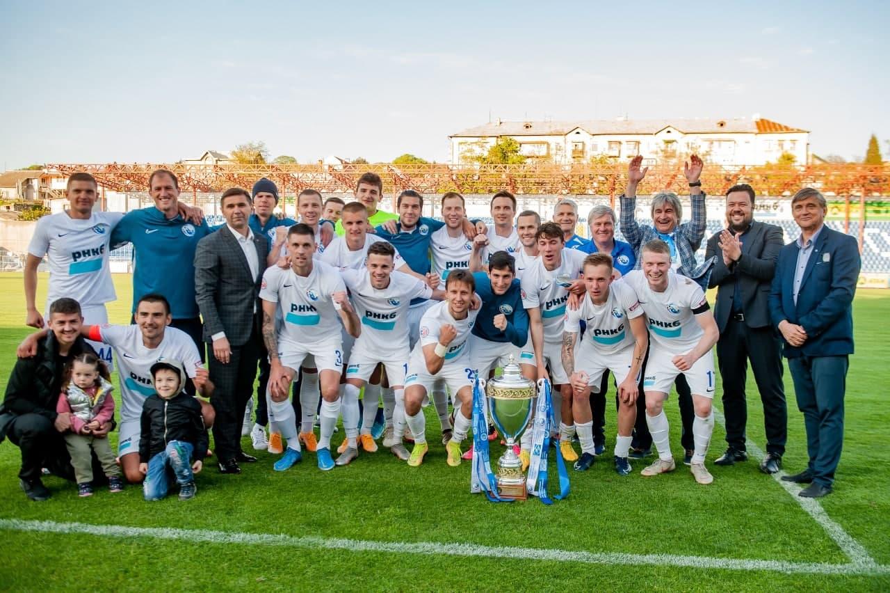 Поздравляем ФК «Севастополь» с победой в Премьер-лиге Крымского футбольного союза!